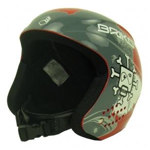 Briko Antesi Red Skull vaikiškas šalmas